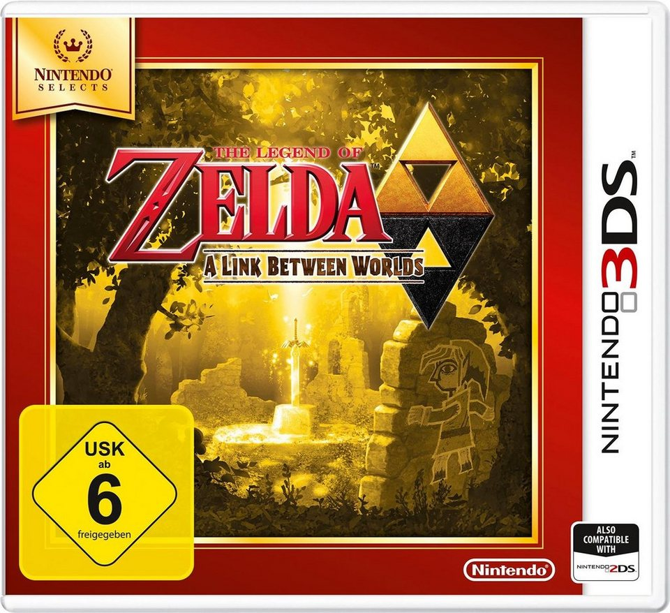 The Legend of Zelda: A link between Worlds Nintendo Selects 3DS