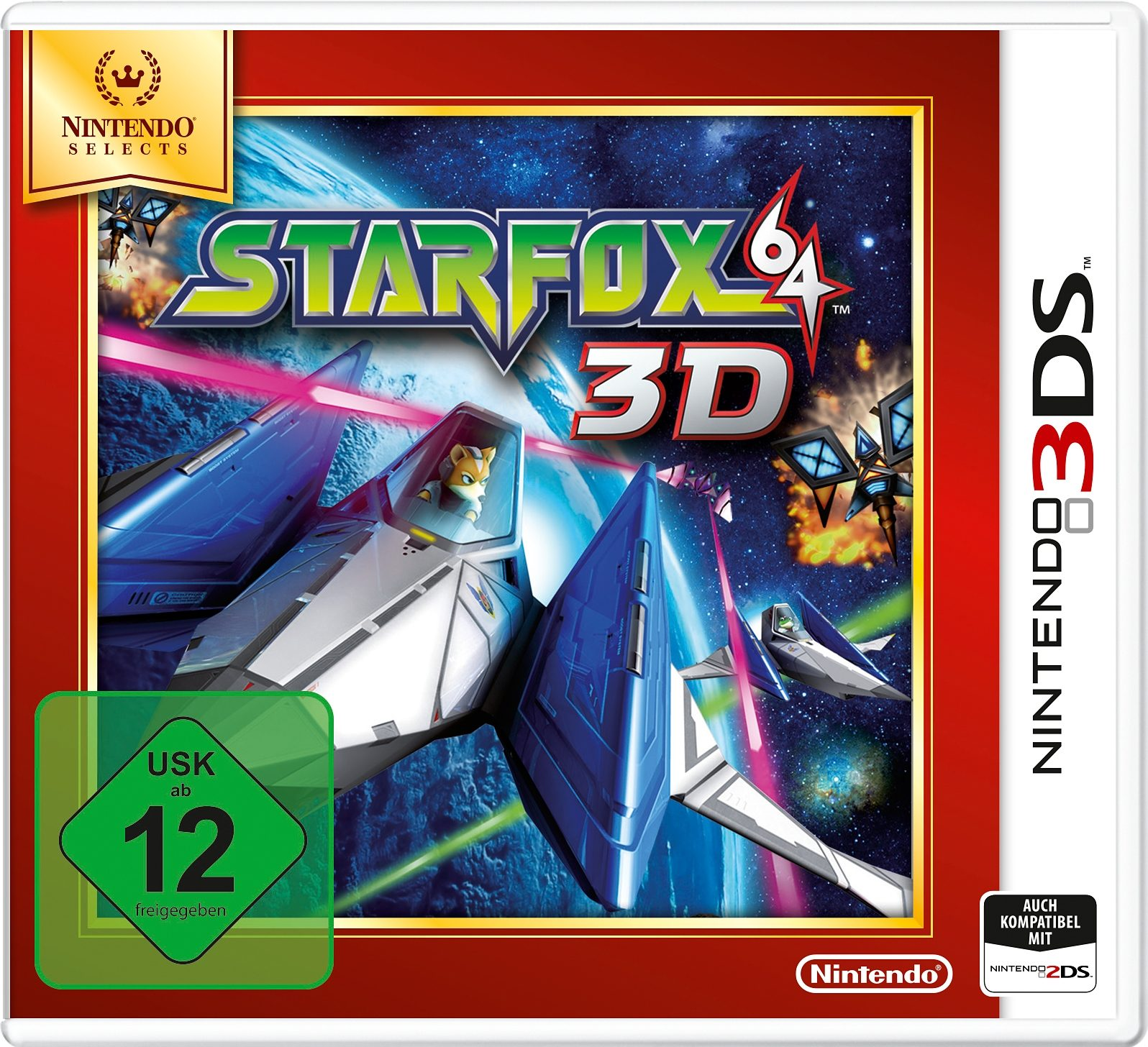 Star Fox 64 3D Selects Nintendo 3DS