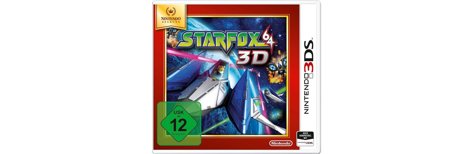 Star Fox 64 3D Nintendo Selects 3DS