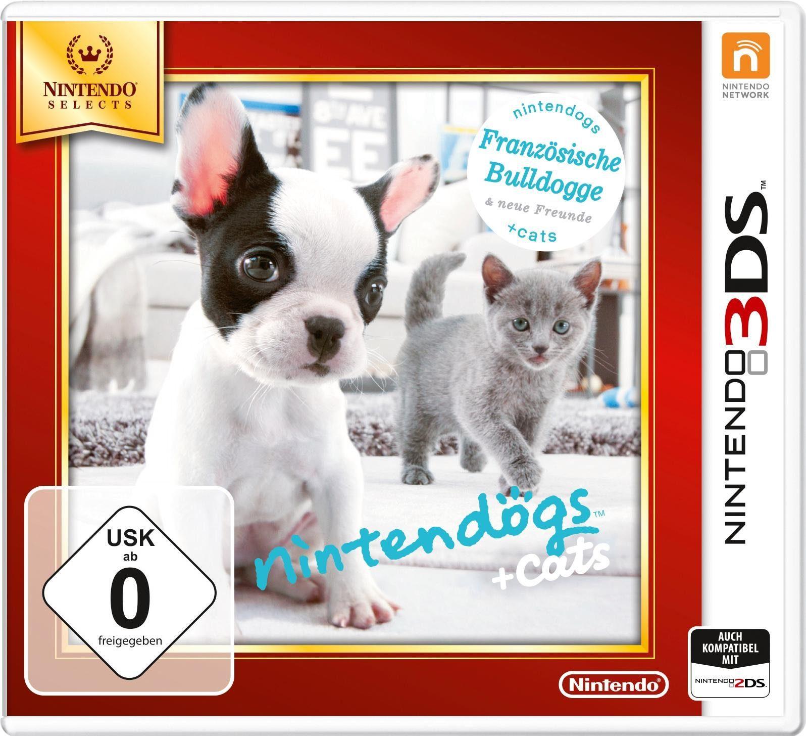Nintendogs + Cats Französische Bulldogge & neue Freunde Nintendo Selects 3DS