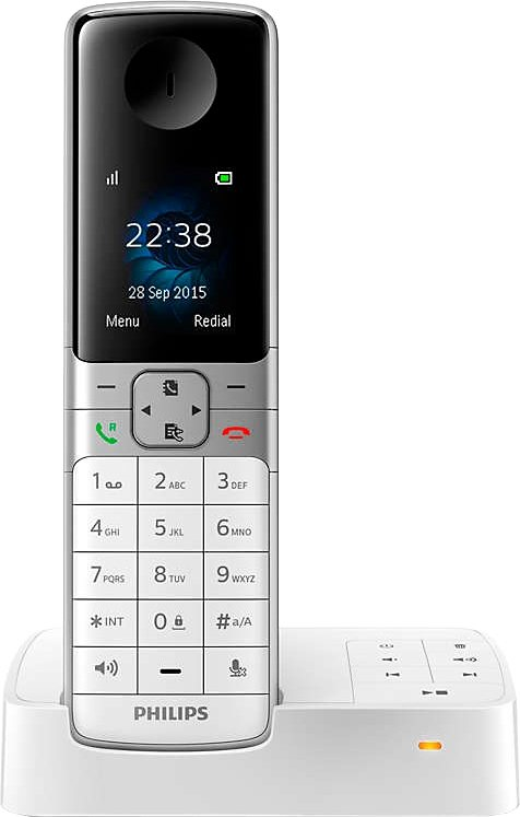 philips d6351 schnurloses dect telefon mit ab otto. Black Bedroom Furniture Sets. Home Design Ideas