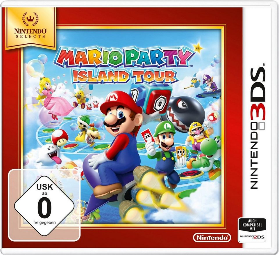 Mario Party: Island Tours Nintendo Selects 3DS
