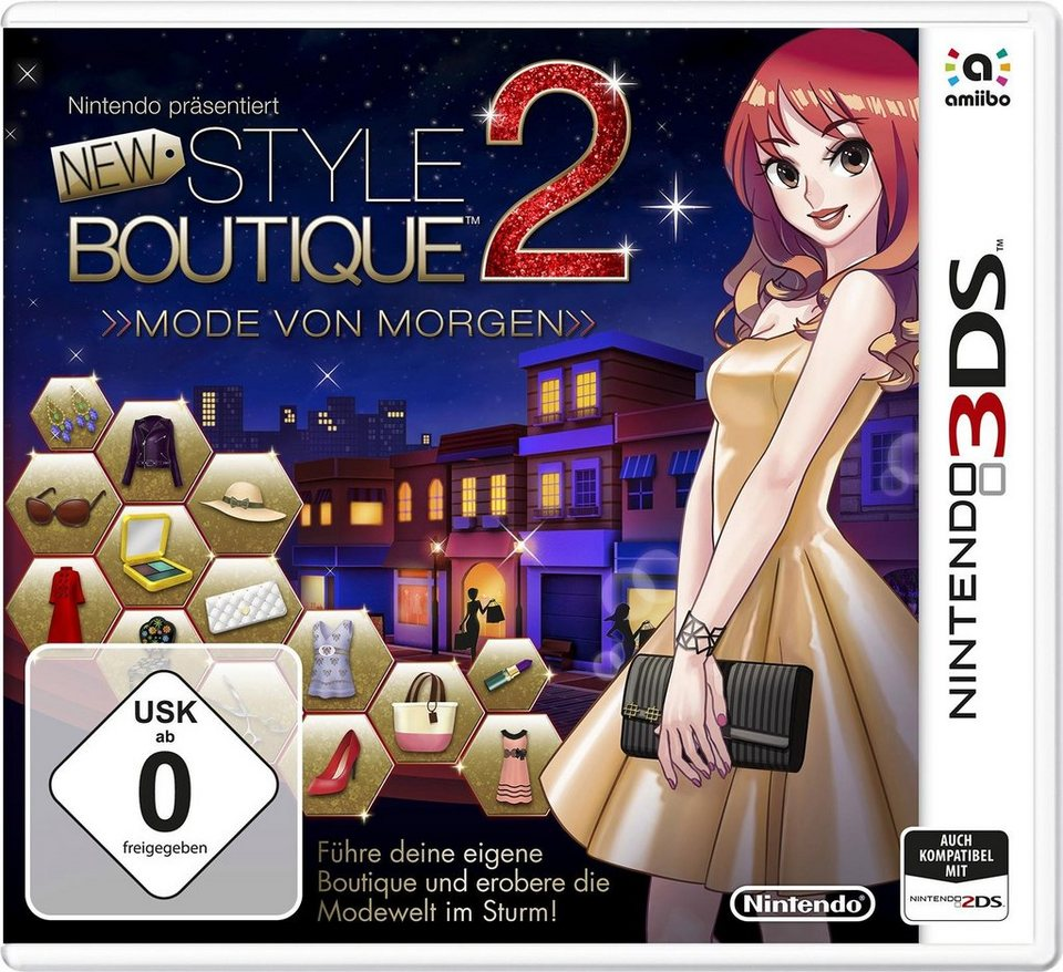 New Style Boutique 2 - Mode von Morgen Nintendo 3DS