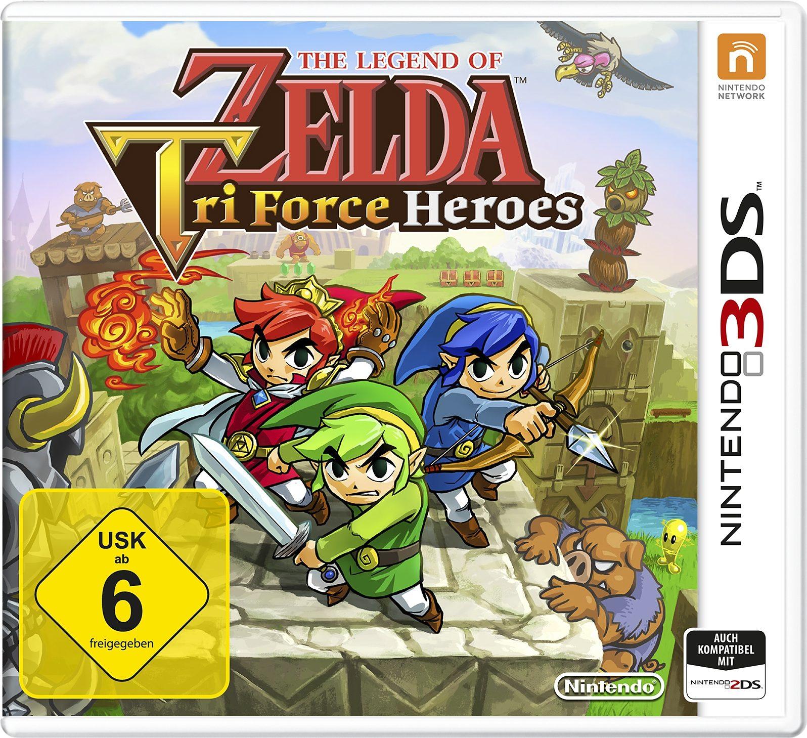 The Legend of Zelda: Tri Force Heroes 3DS Nintendo 3DS