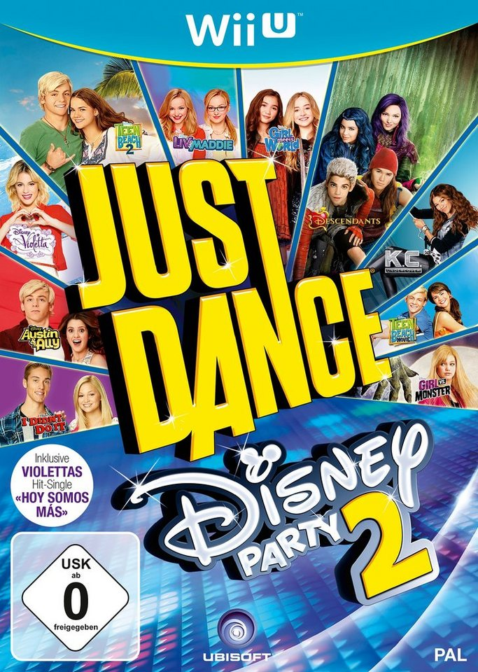 Just Dance Disney 2 Nintendo Wii U