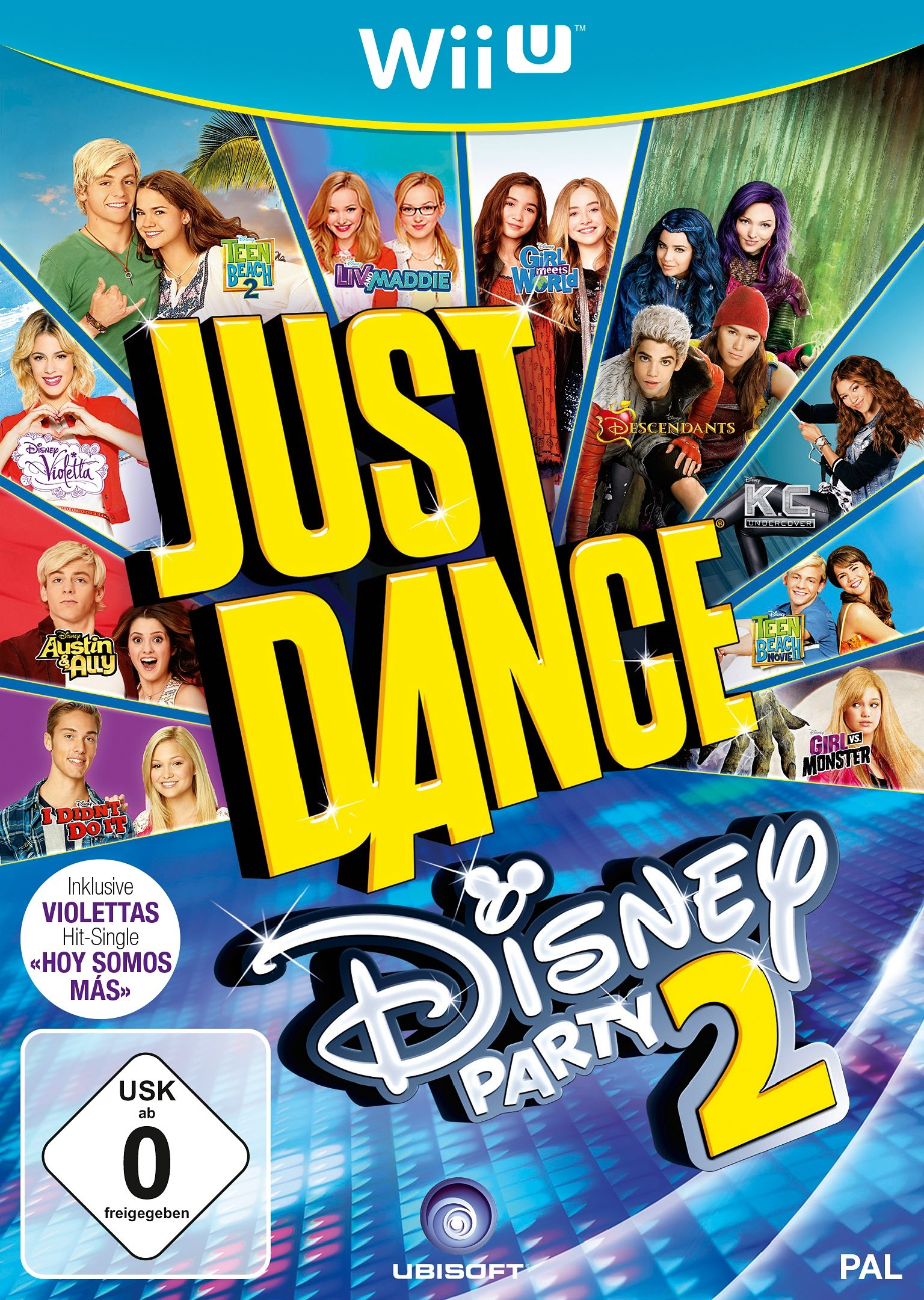 Just Dance Disney 2 Nintendo Wii U