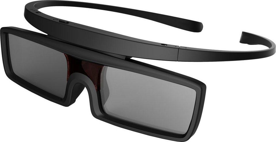 Hisense FPS3D06 3D-Active-Shutter-Brille in Schwarz