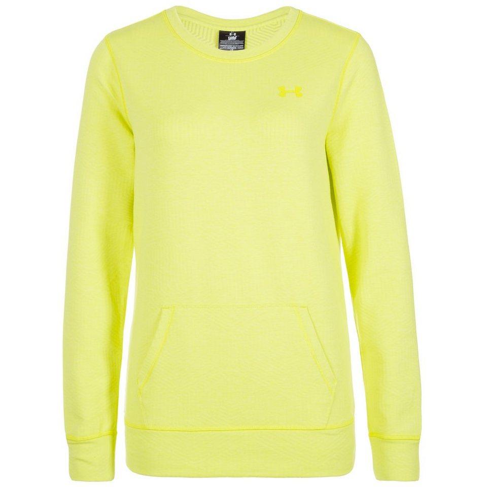 Under Armour® ColdGear Cozy Trainingsshirt Damen in gelb