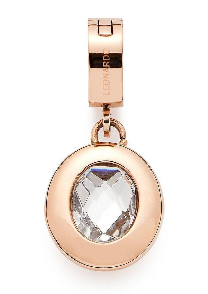Jewels by Leonardo Charm mit Glasstein, »darlin´s passero, 015500« in roségoldfarben