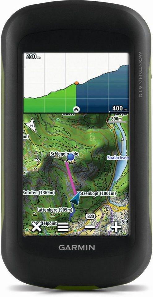 Garmin Outdoornavigation »Montana 610« in Schwarz-Grün