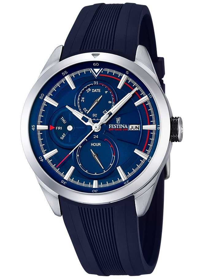 Festina Multifunktionsuhr, »F16829/2« in blau