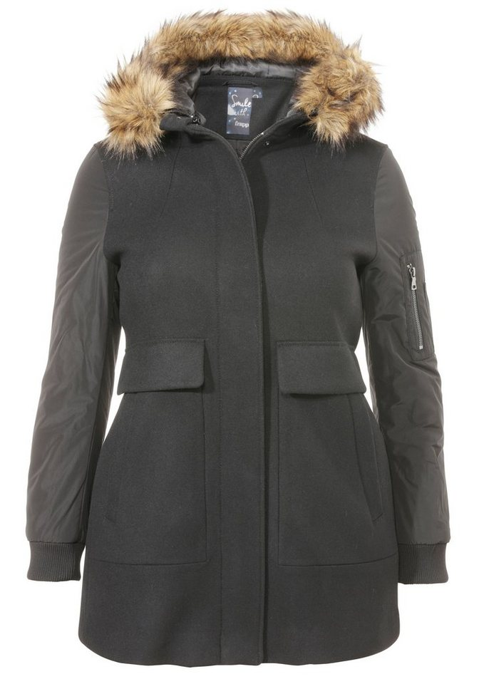 FRAPP Parka »Pure Comfort« in BLACK