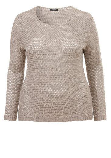 "FRAPP Lässig-eleganter Pullover ""Pure Comfort"" mit Lurex Pure Comfort"