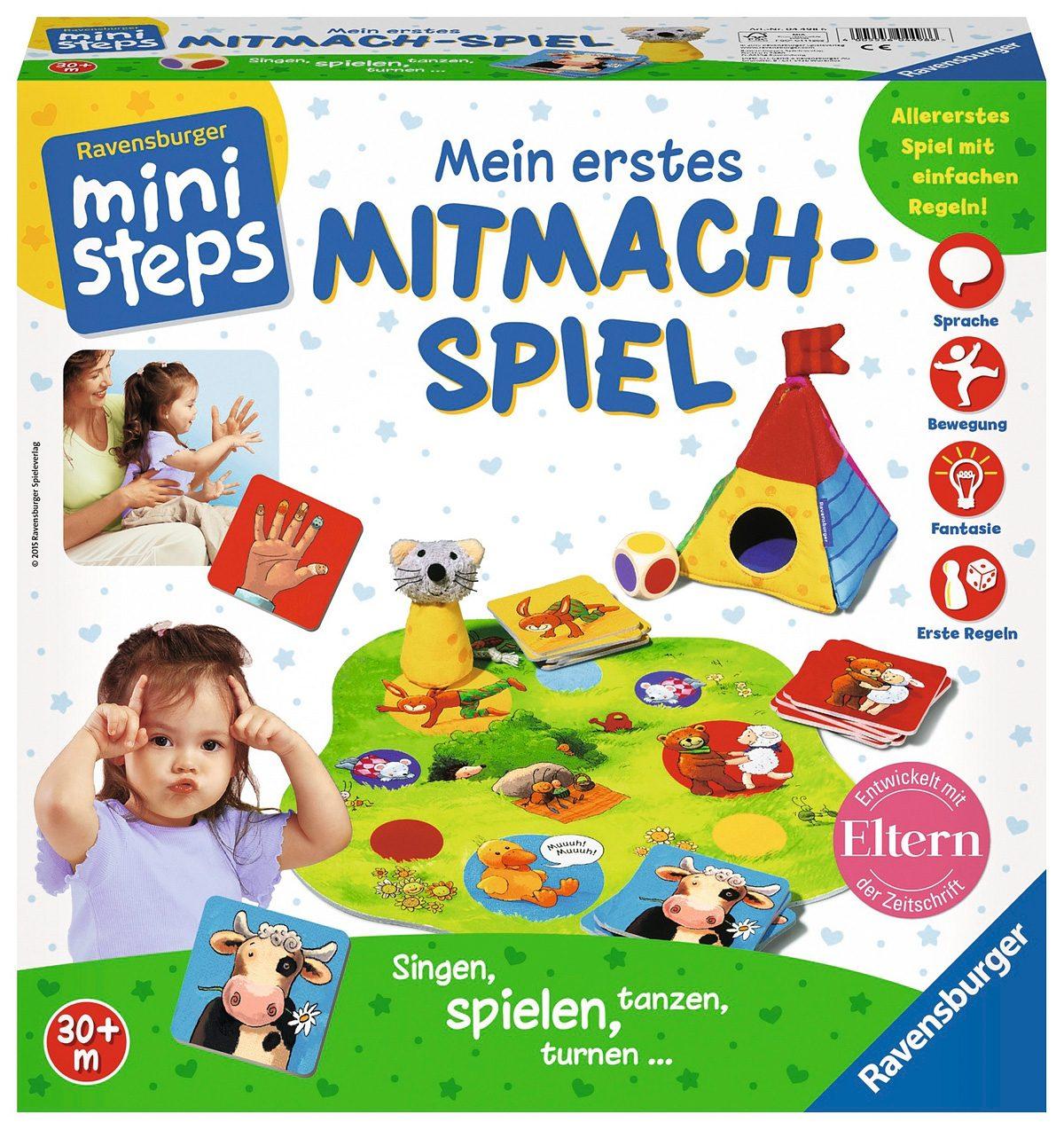 Ravensburger Spiel, ministeps®, »Mein erstes Mitmach-Spiel«