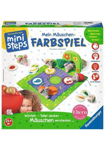 """RAVENSBURGER Spiel """"Mein Mäuschen Farbspi..."""