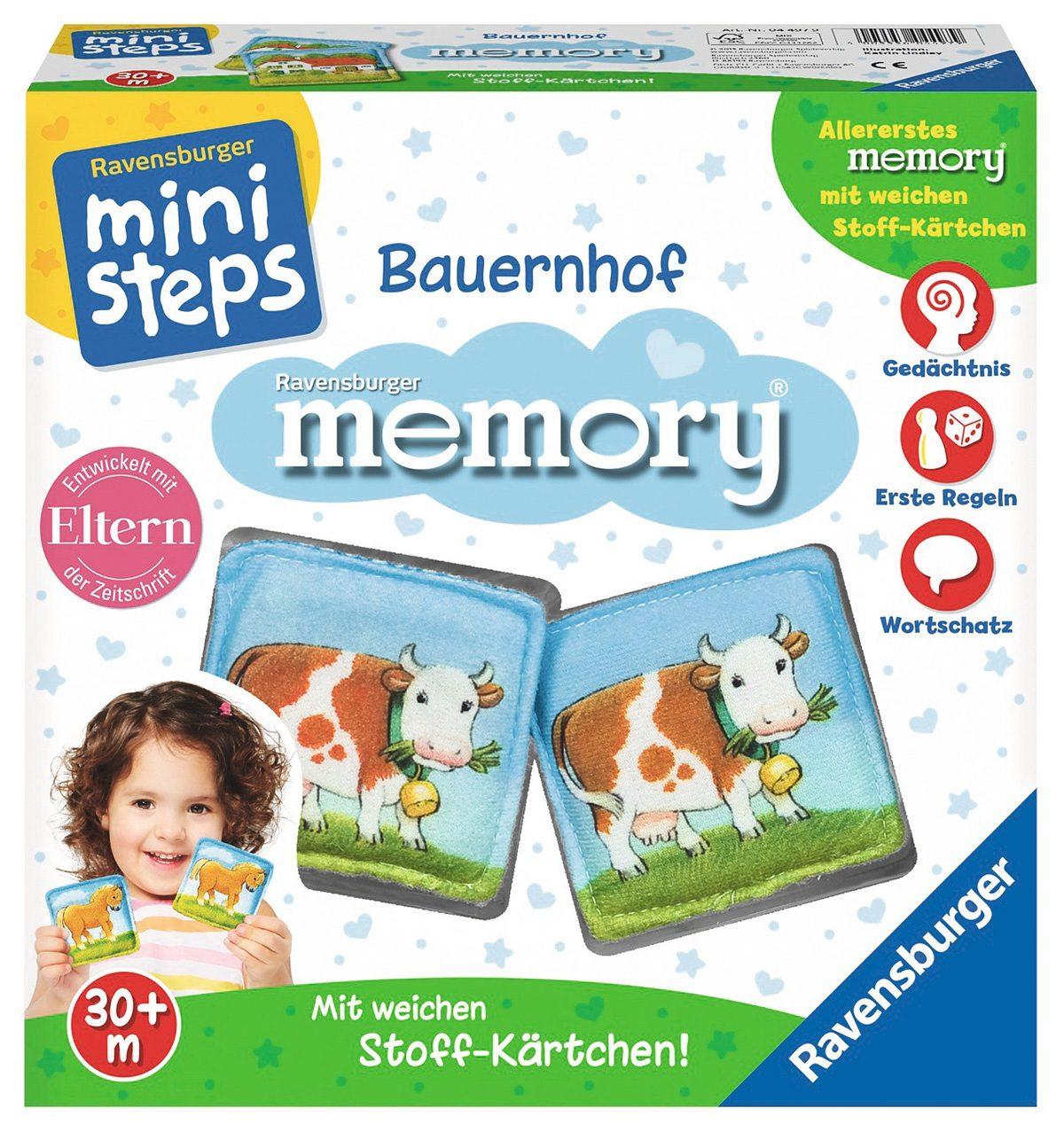 Ravensburger Memory, ministeps®, »Bauernhof memory®«