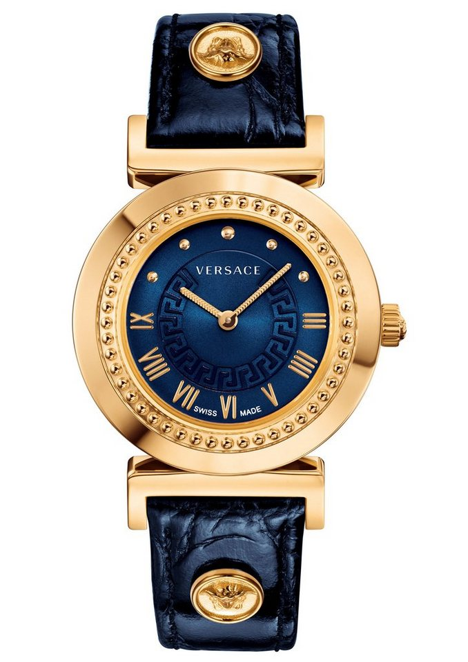versace uhr gold