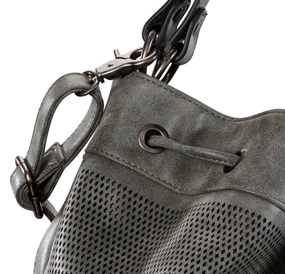 Tasche in grau