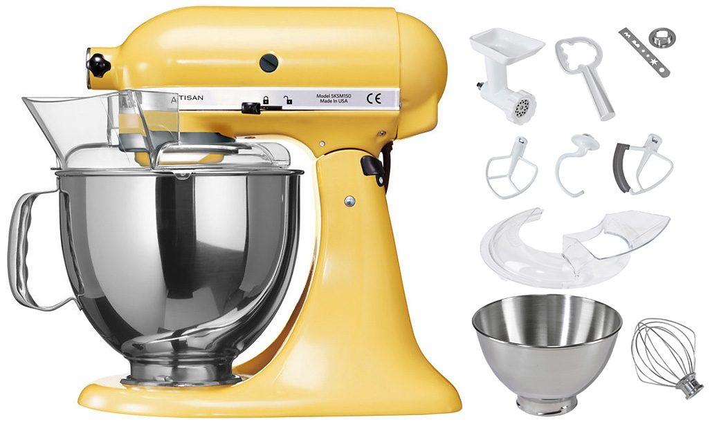 KitchenAid Küchenmaschine 5KSM175PSEMY Artisan, mit Sonderzubehör im Wert von ca. 214,-€