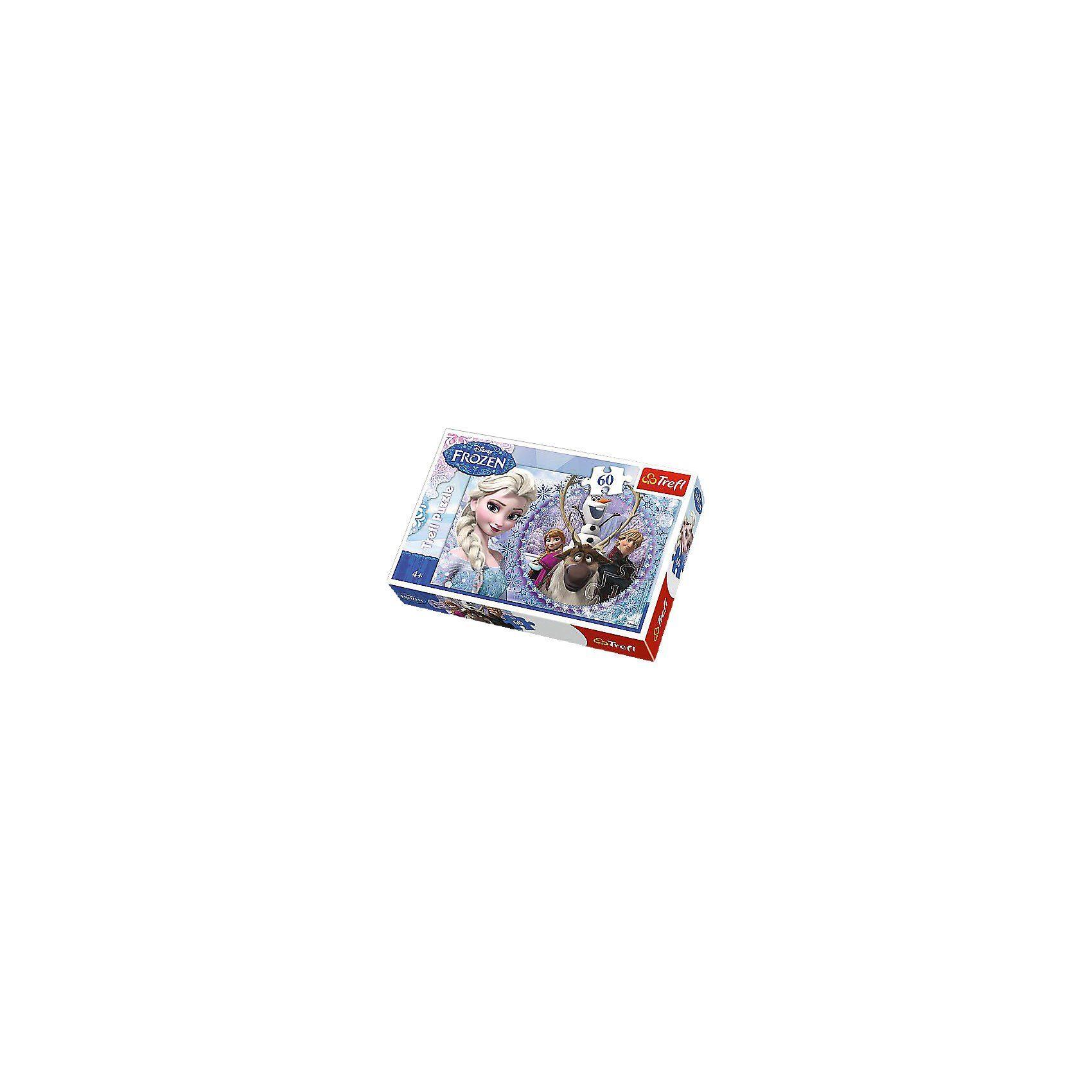 Trefl Puzzle 60 Teile - Die Eiskönigin