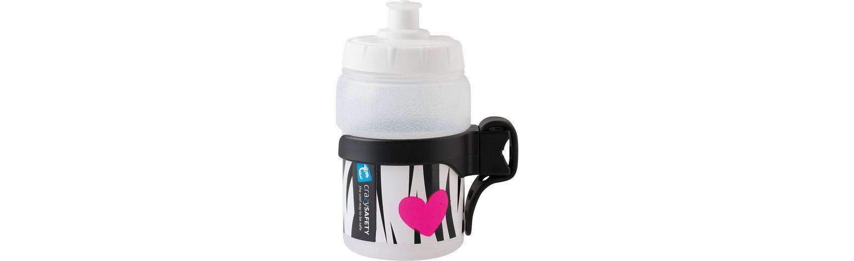 Crazy Safety Trinkflasche Zebra