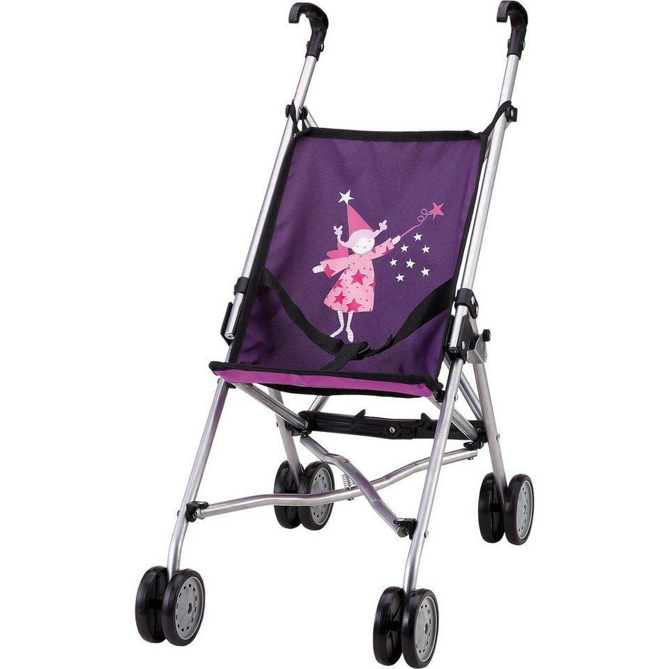 BAYER Puppenwagen Buggy lila