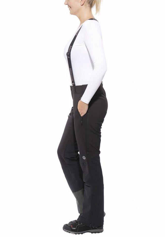 Marmot Softshellhose »Pro Tour Pant Women black« in schwarz