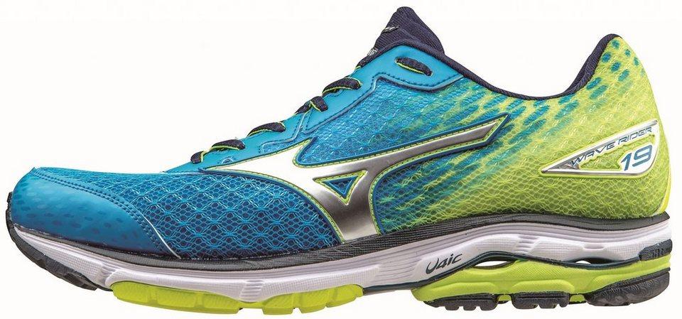 Mizuno Runningschuh »Wave Rider 19 Running Shoe Men« in blau