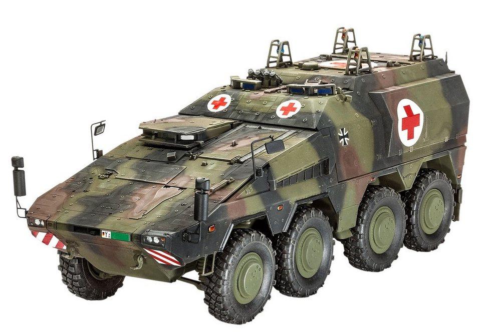 Revell® Modellbausatz Transportfahrzeug, »GTKBoxer sgSanKfz« in grün