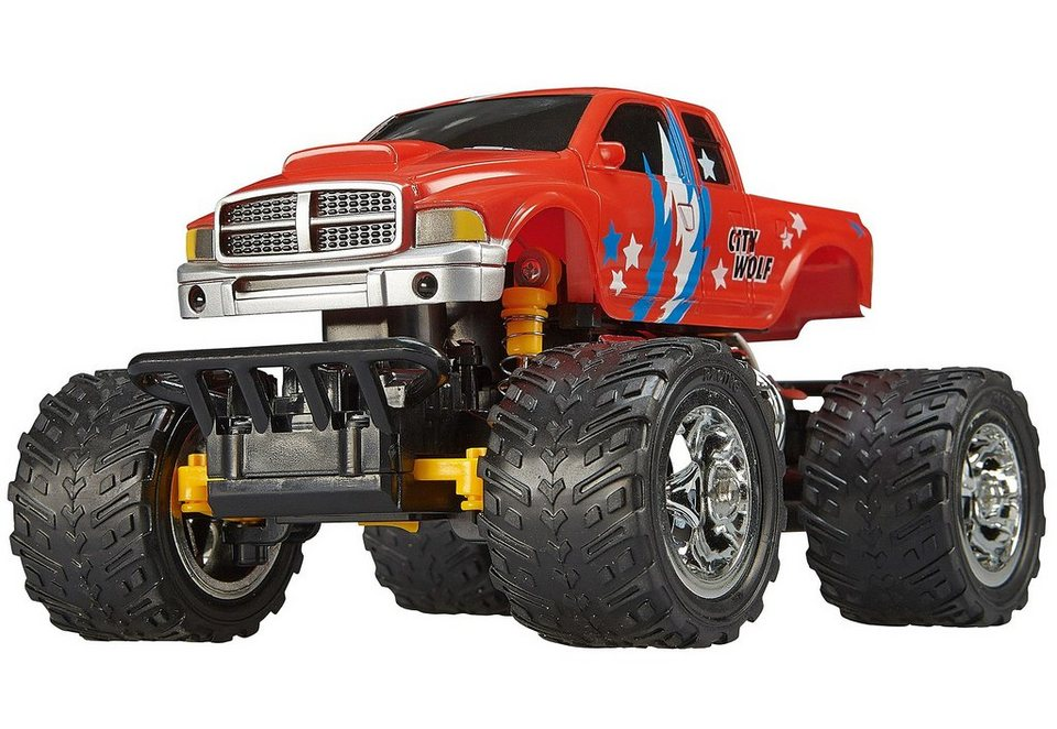 Revell® RC Auto, »Revell® Control Monstertruck City Wolf« in rot