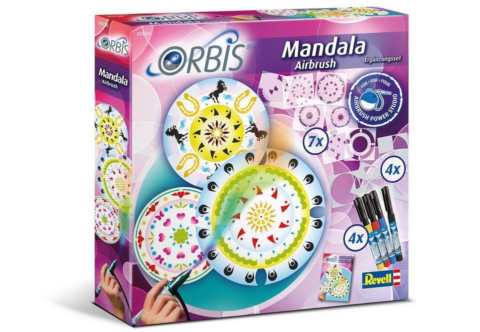 Revell® Airbrush-Kreativ-Set, »Orbis Mandala Airbrush«