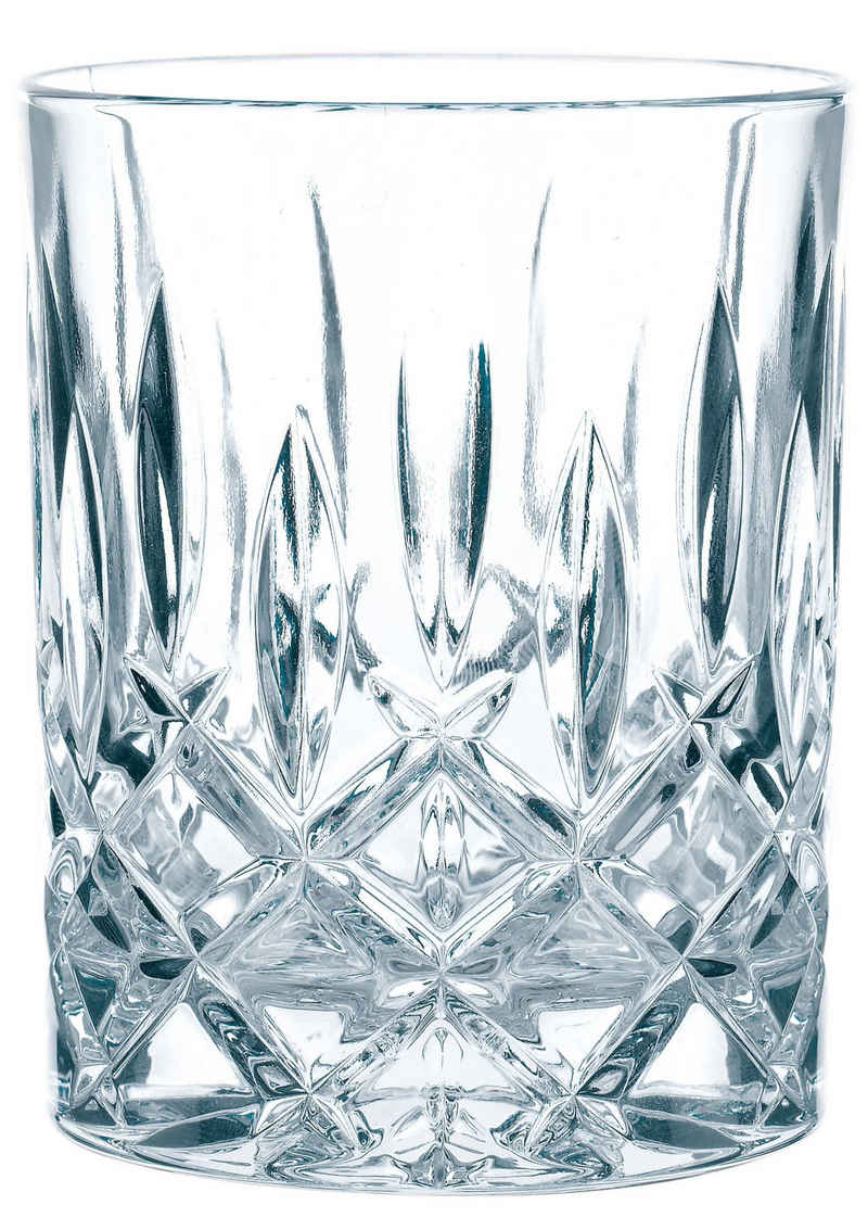 Nachtmann Whiskyglas »Noblesse«, Kristallglas, edler Schliff, 4-teilig