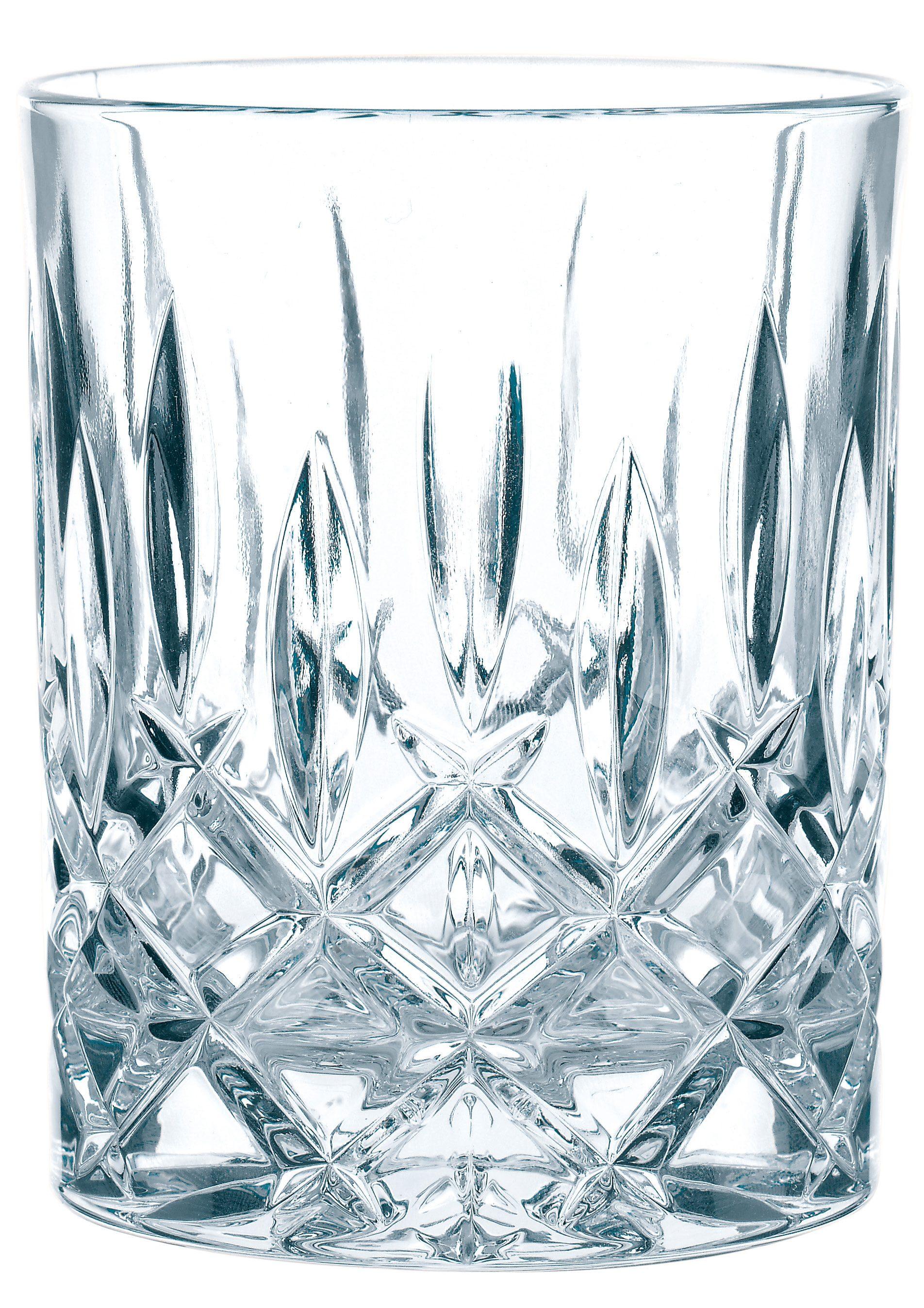 Nachtmann Whiskyglas »Noblesse« (4 Stück), edler Schliff
