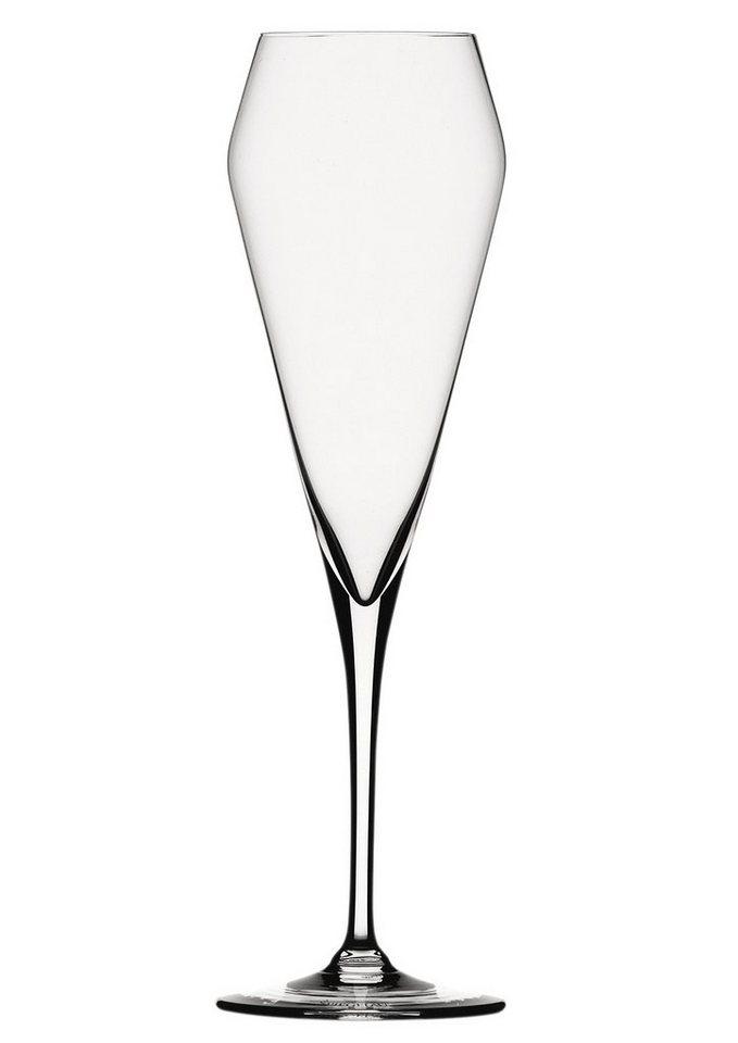 Spiegelau Champagnerglas , »Willsberger Anniversary« (4tlg.) in transparent
