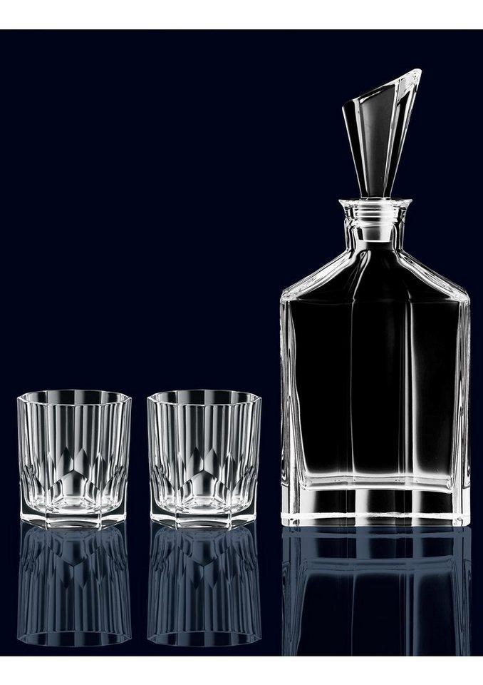 Nachtmann Whisky-Set, »Aspen« (3tlg.) in transparent
