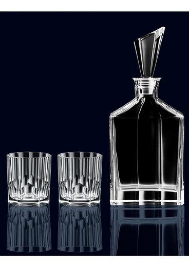 Nachtmann Whiskyglas »Aspen« (2-tlg), inklusive Karaffee