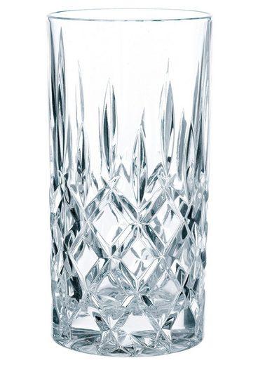 Nachtmann Longdrinkglas »Noblesse« (4-tlg), edler Schliff