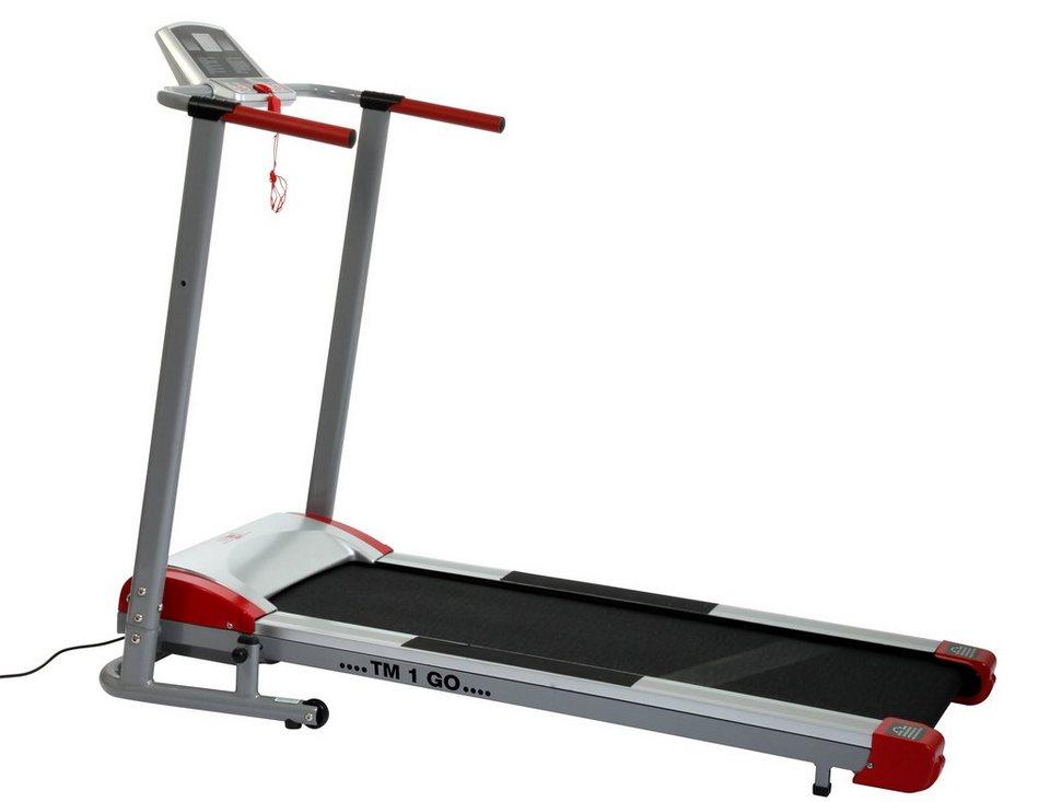 Christopeit Sport® Laufband, »TM 1 Go« in mehrfarbig