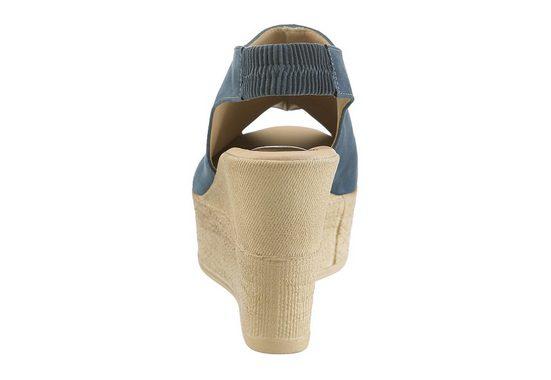 Arizona Sandalette, mit Keilabsatz
