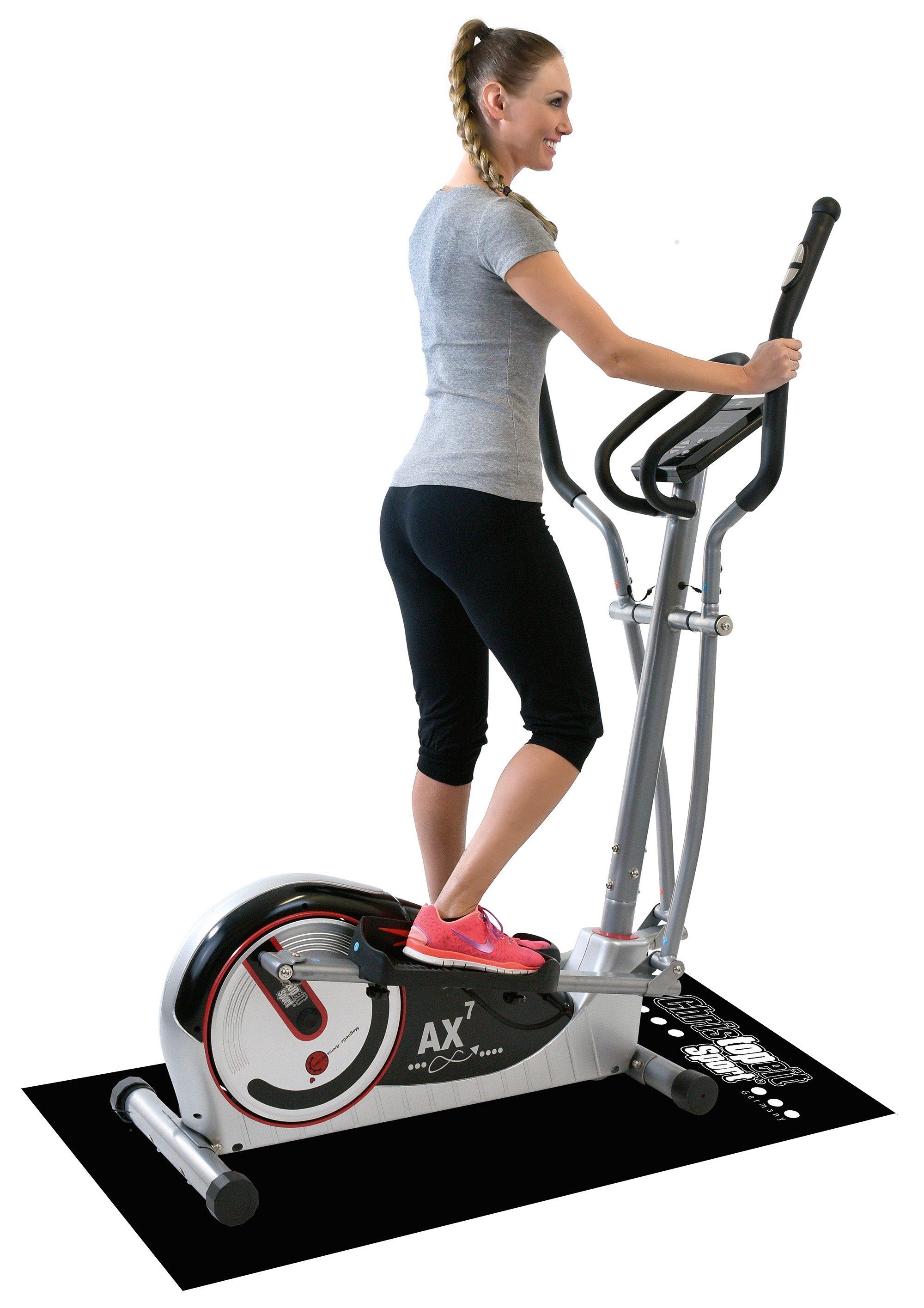 Christopeit Sport® Crosstrainer Ergometer inkl. Unterlegmatte, »AX 7«