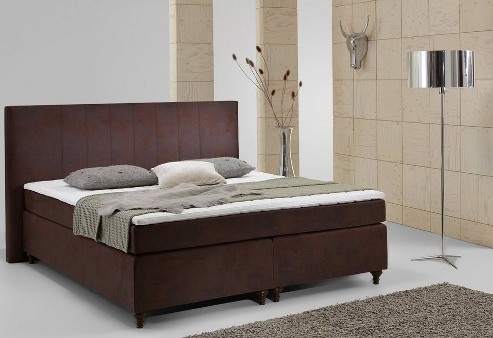 home affaire boxspring bett hendrik kaufen otto. Black Bedroom Furniture Sets. Home Design Ideas