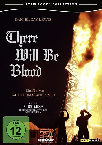 DVD »There Will Be Blood (Steelbook Collection)«