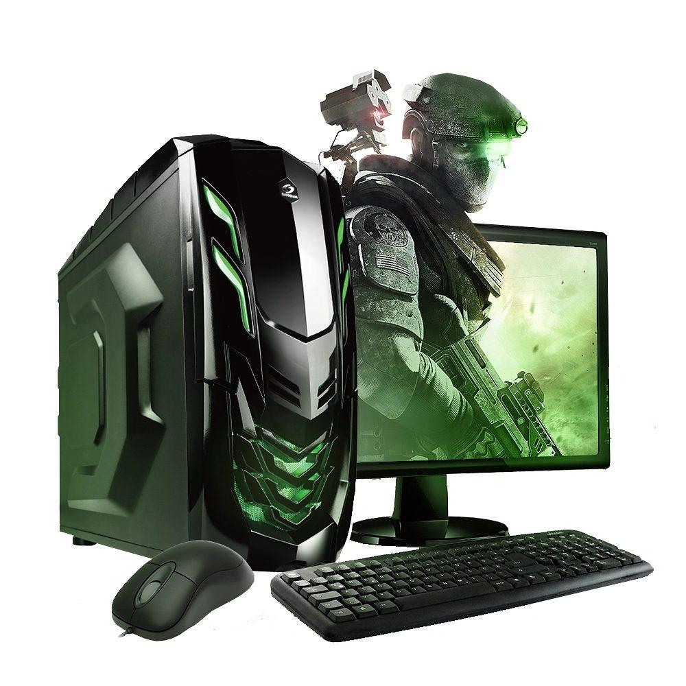"VCM GeForce GTX 750Ti, 2 GB / 8 GB RAM / Windows 10 / 22"" TFT"