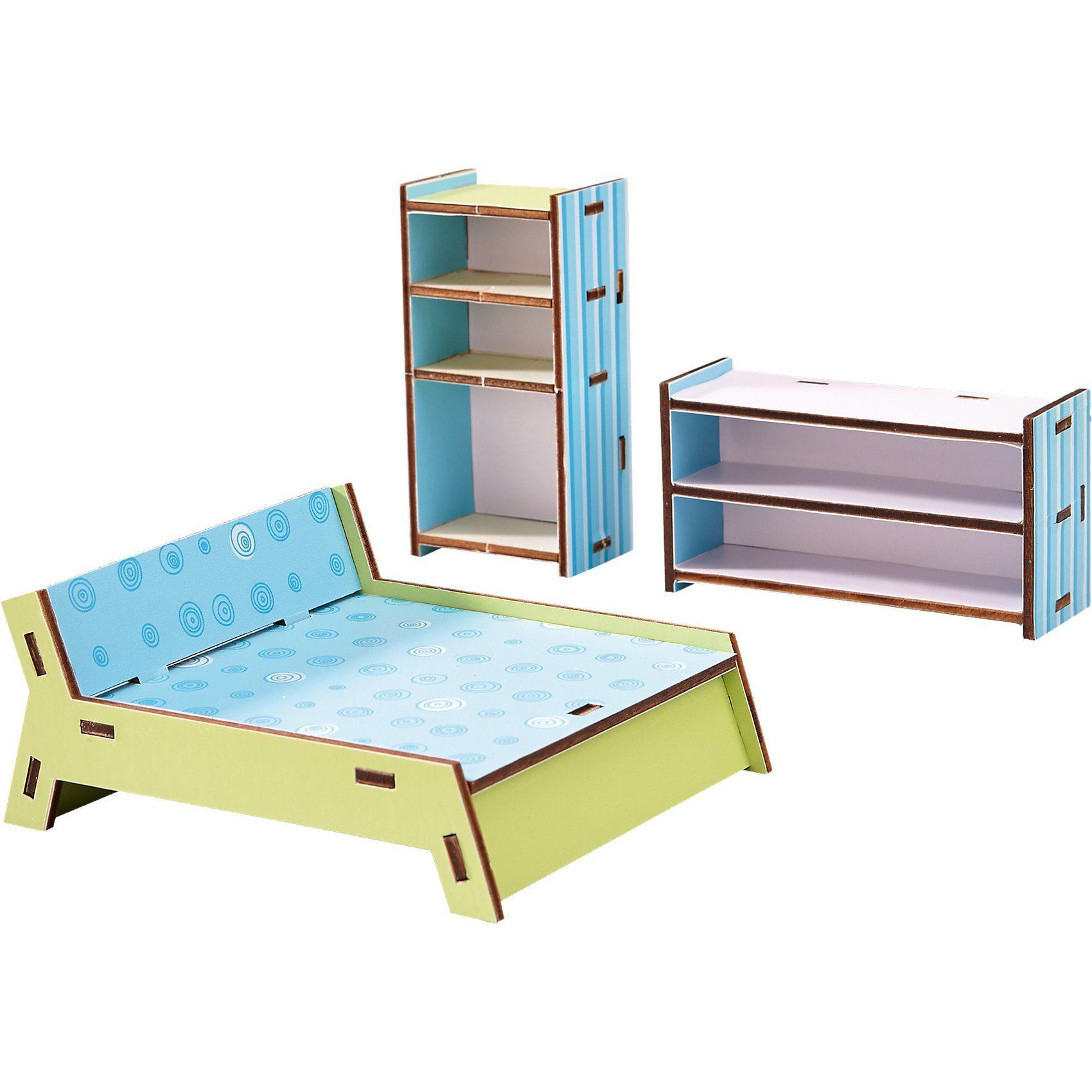 Haba 300506 Puppenhaus Little Friends Möbel Schlafzimmer
