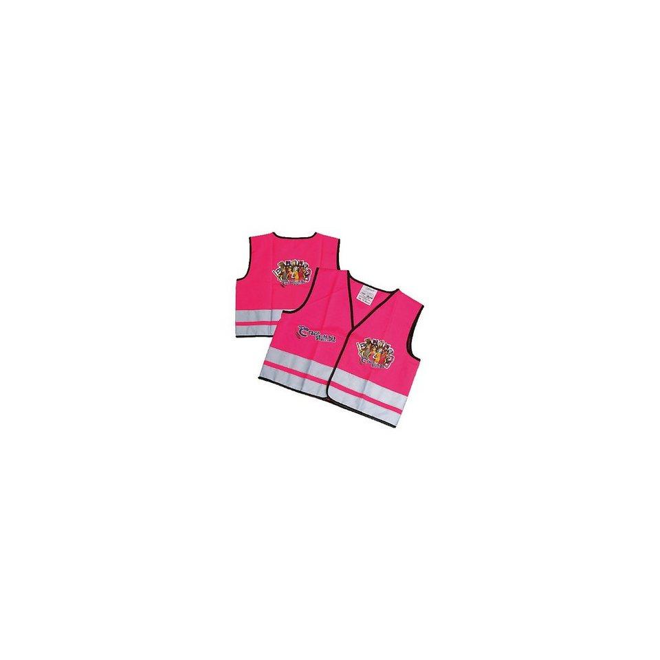 Crazy Stuff Warnweste pink, Größe XXS (70-104 cm) in pink