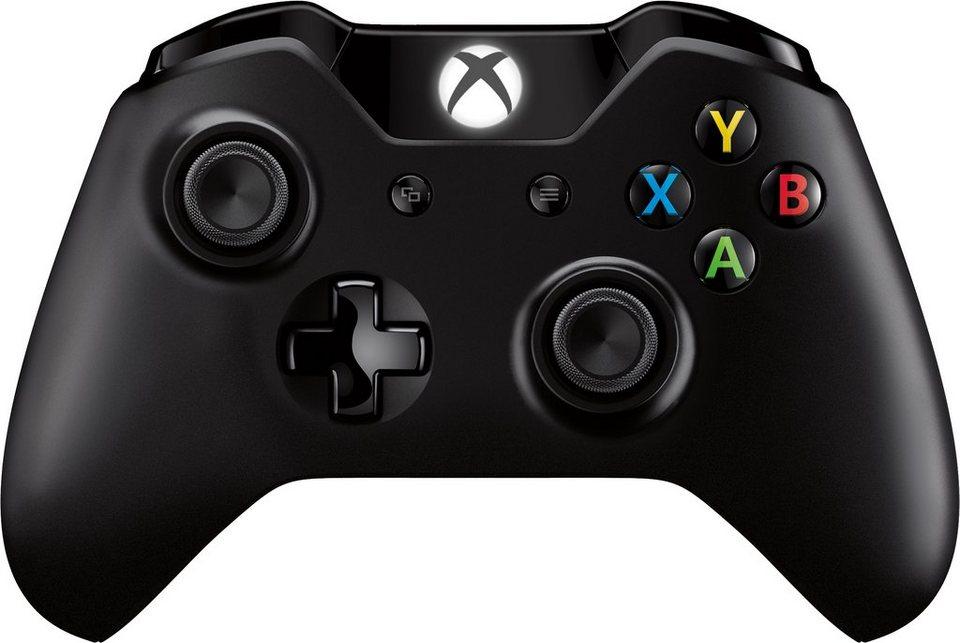 Xbox One Wireless Controller 2015 in Schwarz