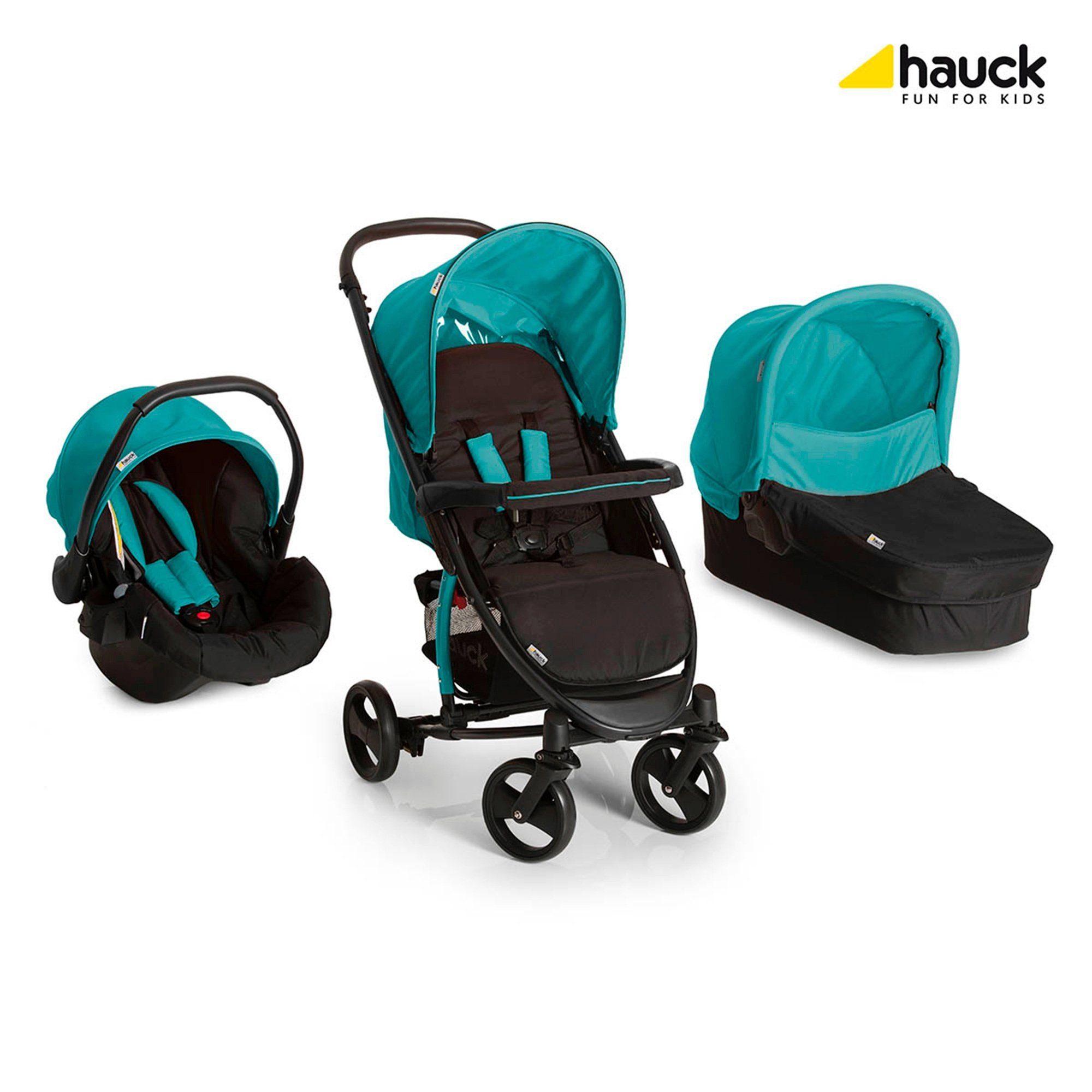 Hauck Miami 4 S Kombikinderwagen Trio-Set Design 2016