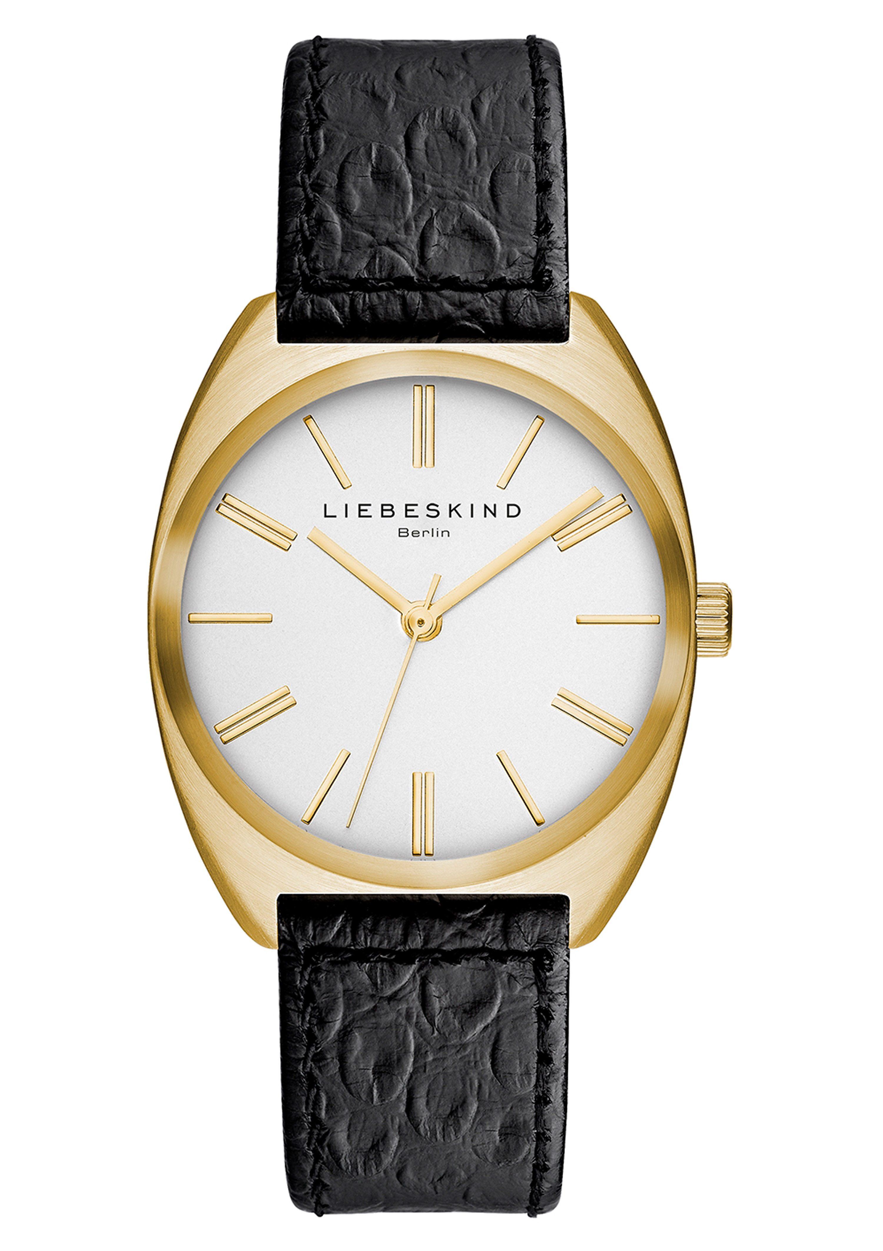 Liebeskind Berlin Armbanduhr, »BRAND NEW SNAKE, LT-0015-LQ«