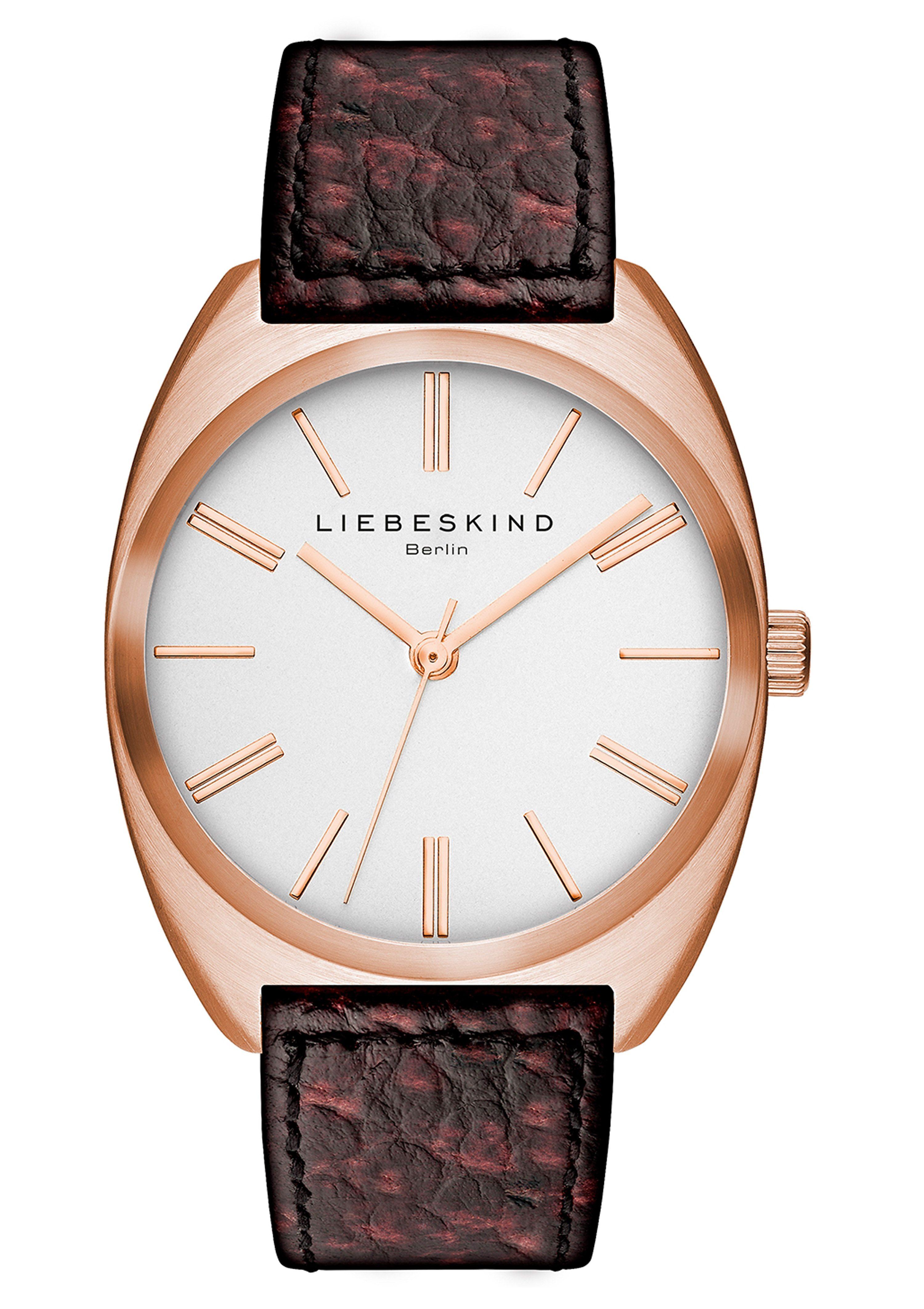 Liebeskind Berlin Armbanduhr, »BRAND NEW SNAKE, LT-0009-LQ«