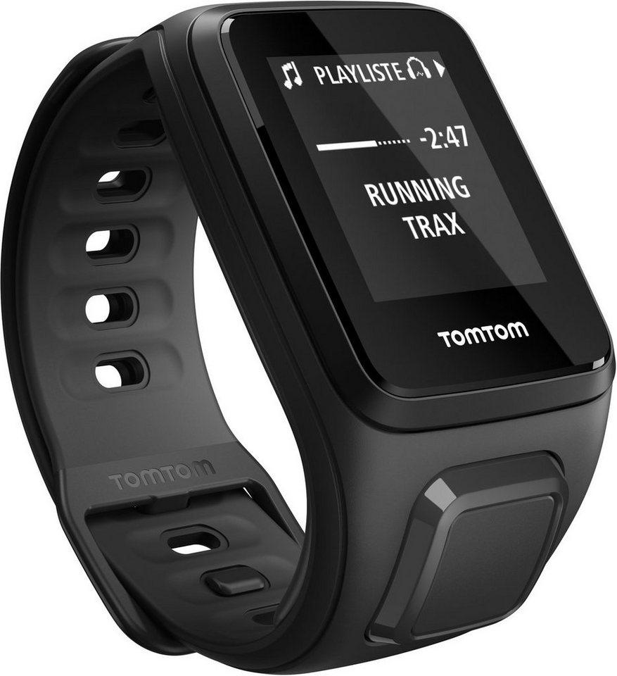 TomTom Sportuhr »Spark Music + Bluetooth Kopfhörer - Small« in Schwarz